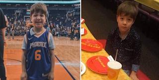 Χαμογέλασε ξανά ο μικρός Τέντι: Τον προσκάλεσε η αγαπημένη του ομάδα μπάσκετ και έκανε «πάρτι» στο γήπεδο