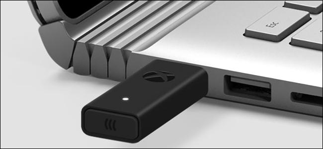 Como conectar um controlador sem fio Xbox a um adaptador sem fio Xbox
