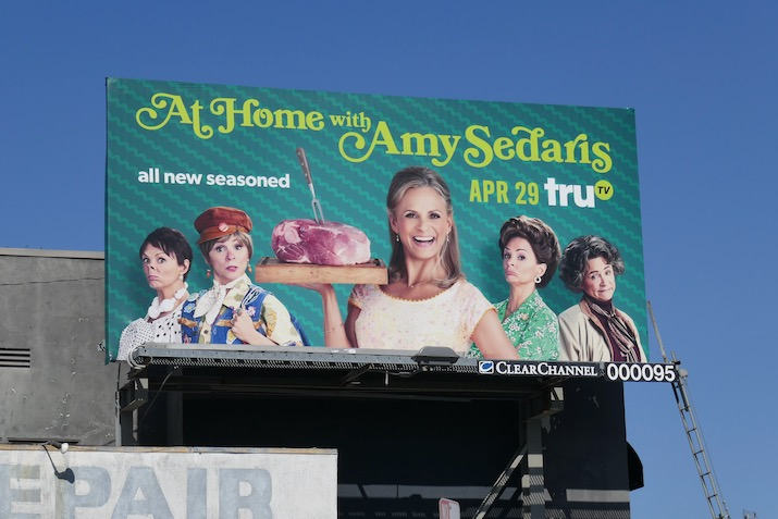 At Home with Amy Sedaris season 3 billboard