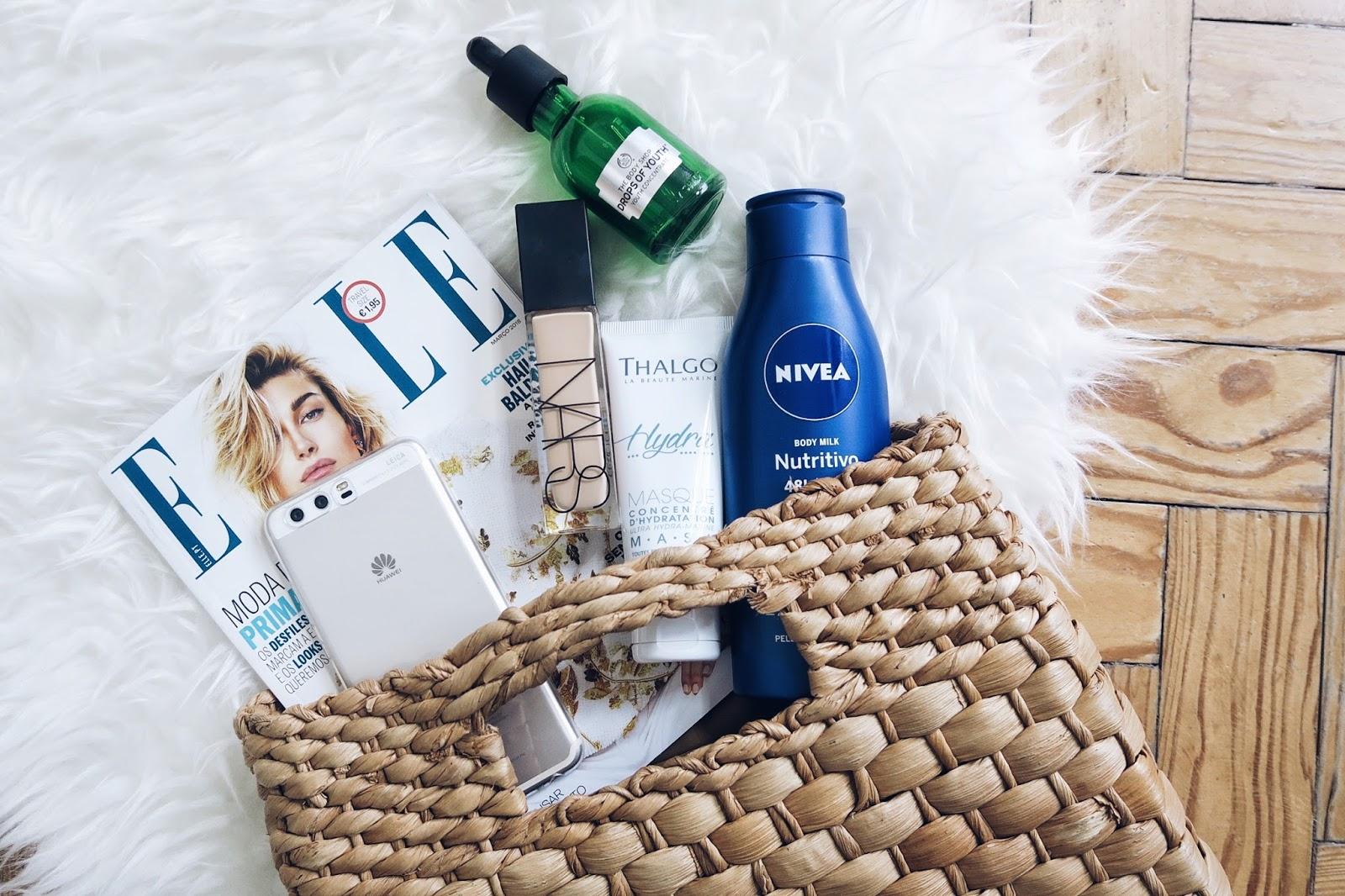 preferidos, best of, melhores produtos, beleza, beauty, blogger, just lily, sephora, nars, elle, the body shop, thalgo, huawei, nivea