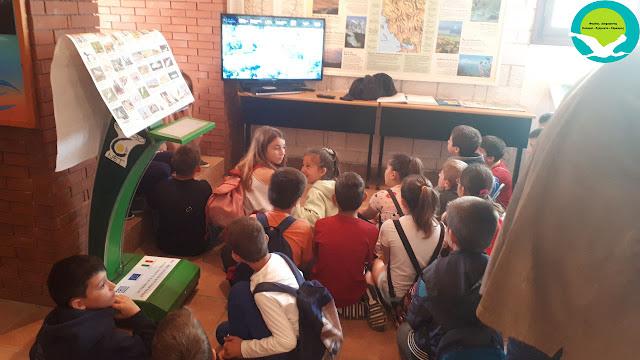 Θεσπρωτία: Επίσκεψη του 2ου δημοτικού σχολείου Καναλακίου στο κέντρο πληροφόρησης Αχέροντα στην Αμμουδιά