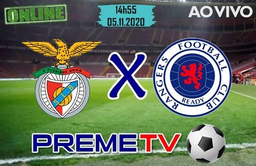 Benfica x Rangers Hoje Ao Vivo