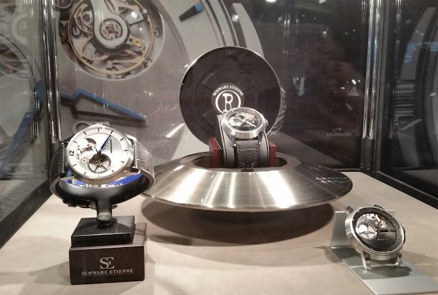 Ufo Uhr der Marke Schwarze Etienne und andere Modelle