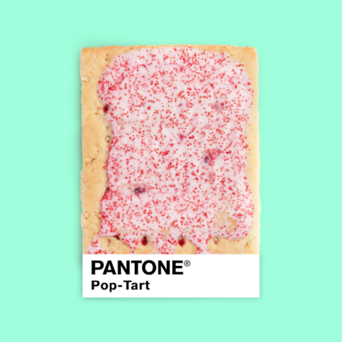 """Pantone pop-tart"" por Paul Fuentes 