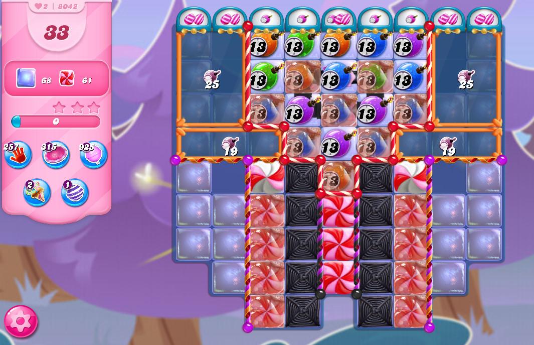 Candy Crush Saga level 8042
