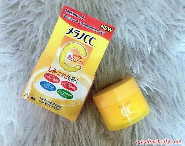 Melano CC, Vitamin Brightening Gel, Suitable for Dry Skin User, Japan Cosmetics, Japan Skincare, Beauty