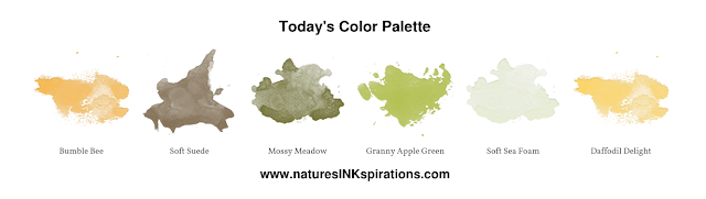 Today's Color Palette | 3rd Thursday Blog Hop - Beautiful Autumn | Nature's INKspirations by Angie McKenzie