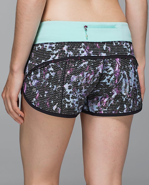 lululemon-speed short flora-sport-tranquil