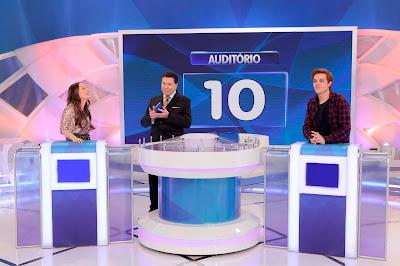 Larissa, Silvio e Leo (Crédito: Lourival Ribeiro/SBT)