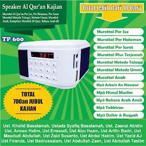 Speaker Al Qur'an Kajian Tp 600 16 Giga