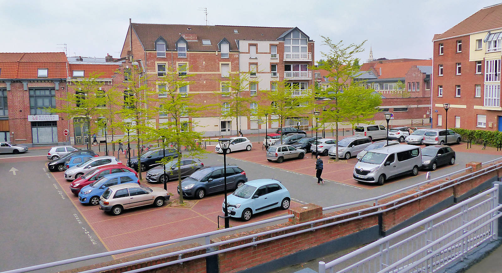 École Tourcoing - Parking CNDI, rue des Anges, Tourcoing