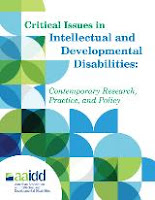 Intellectual and Developmental Disabilities cover