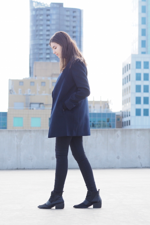 minimal style blogger