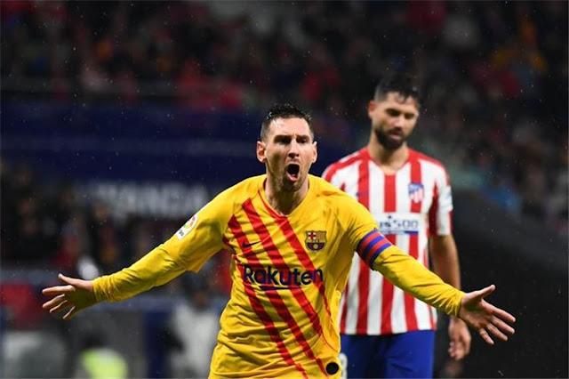 ليونيل ميسي يتصدر قائمة الأعلى راتباً في برشلونة الإسباني