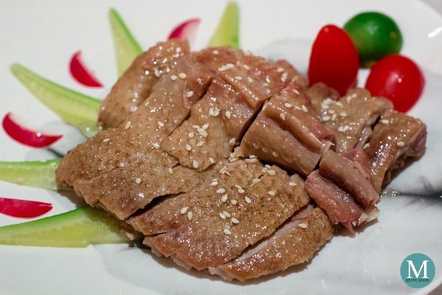 Boiled Salted Goose at Shang Palace, Shangri-La Hotel Wuhan