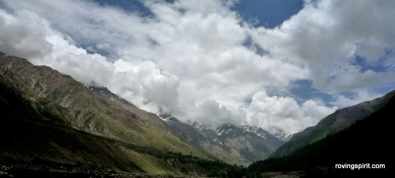 Beautiful view from Chitkul