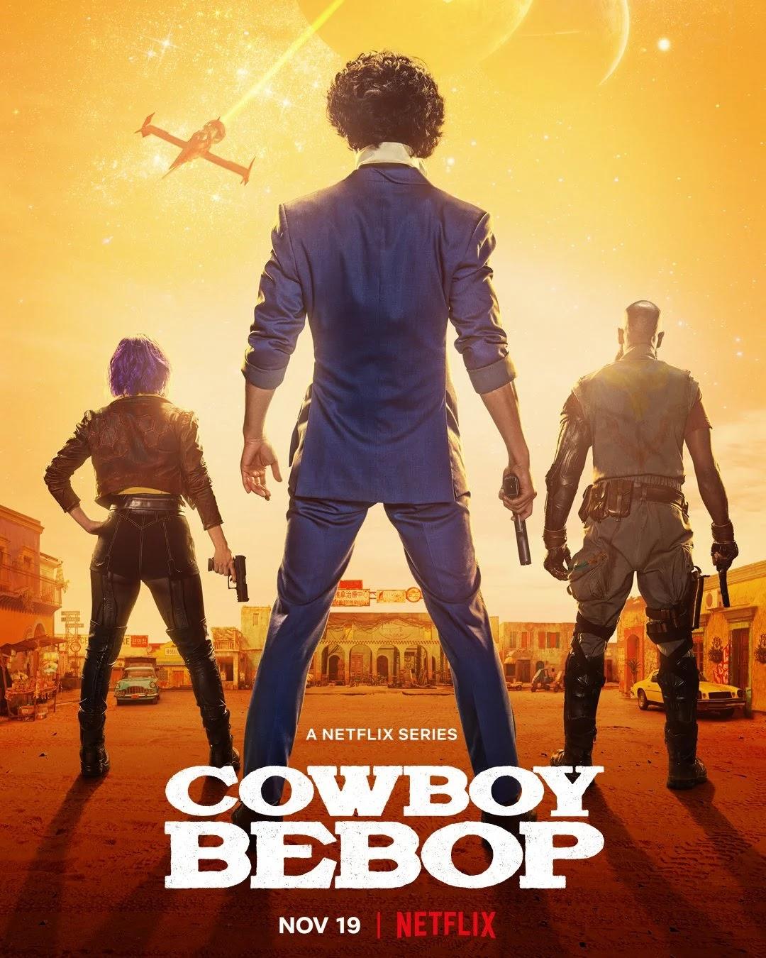 A série Live-action de Cowboy Bebop revelou um novo visual