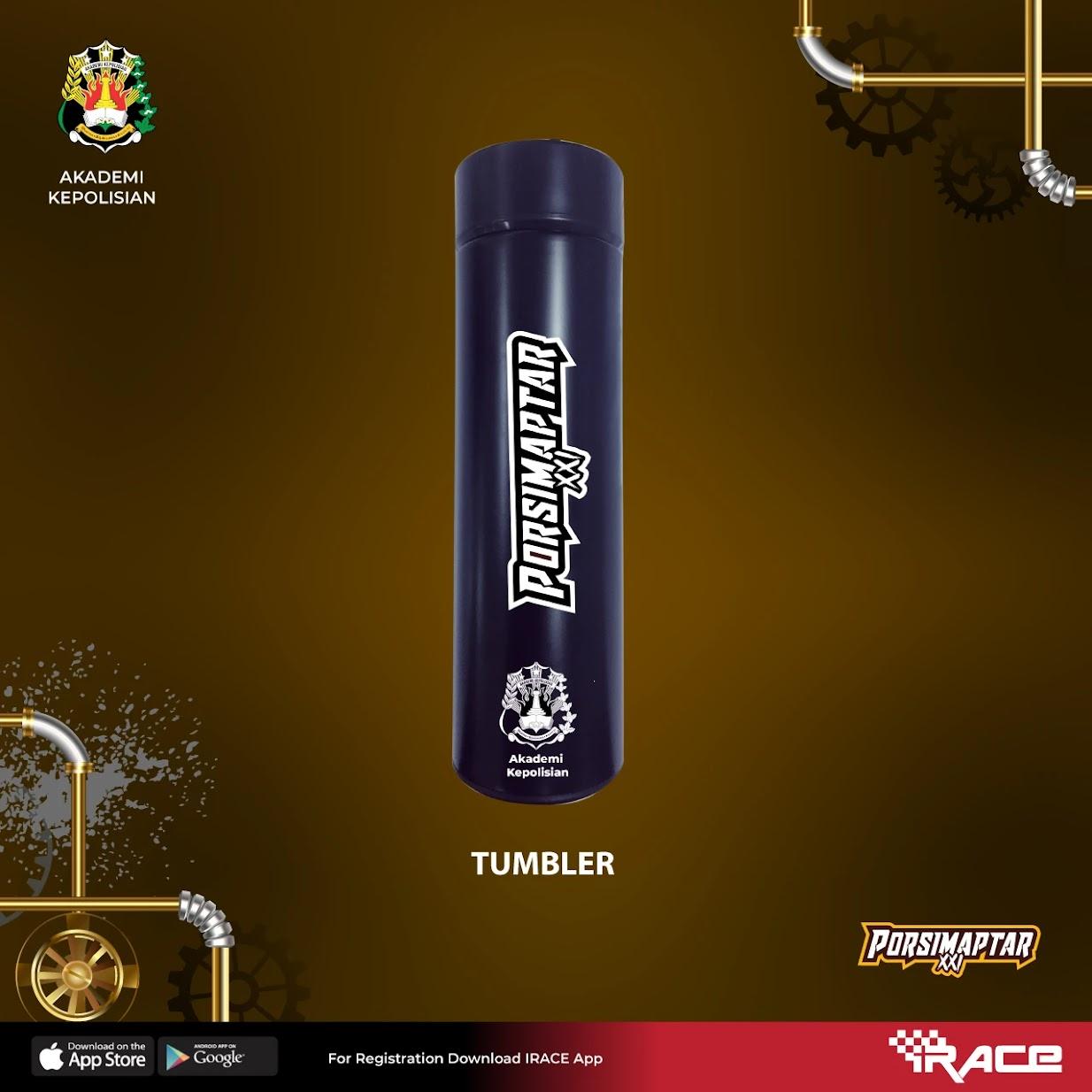 Tumbler 🥤 Porsimaptar Virtual Run XXI • 2021