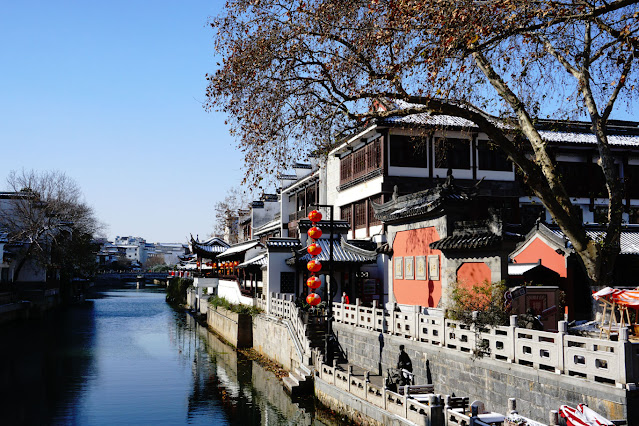 Traditional architecture along the Qinhuai River 2