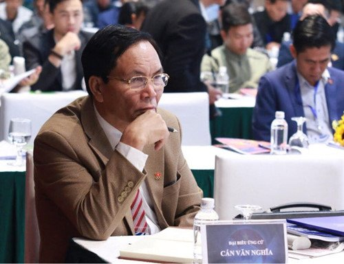 Phó Chủ tịch tài chính VFF Cấn Văn Nghĩa phân lô bán đất thể thao Mỹ Đình 314 tỷ