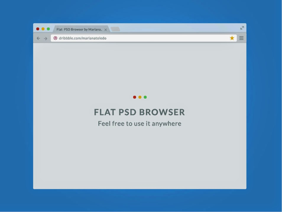 Flat PSD Browser