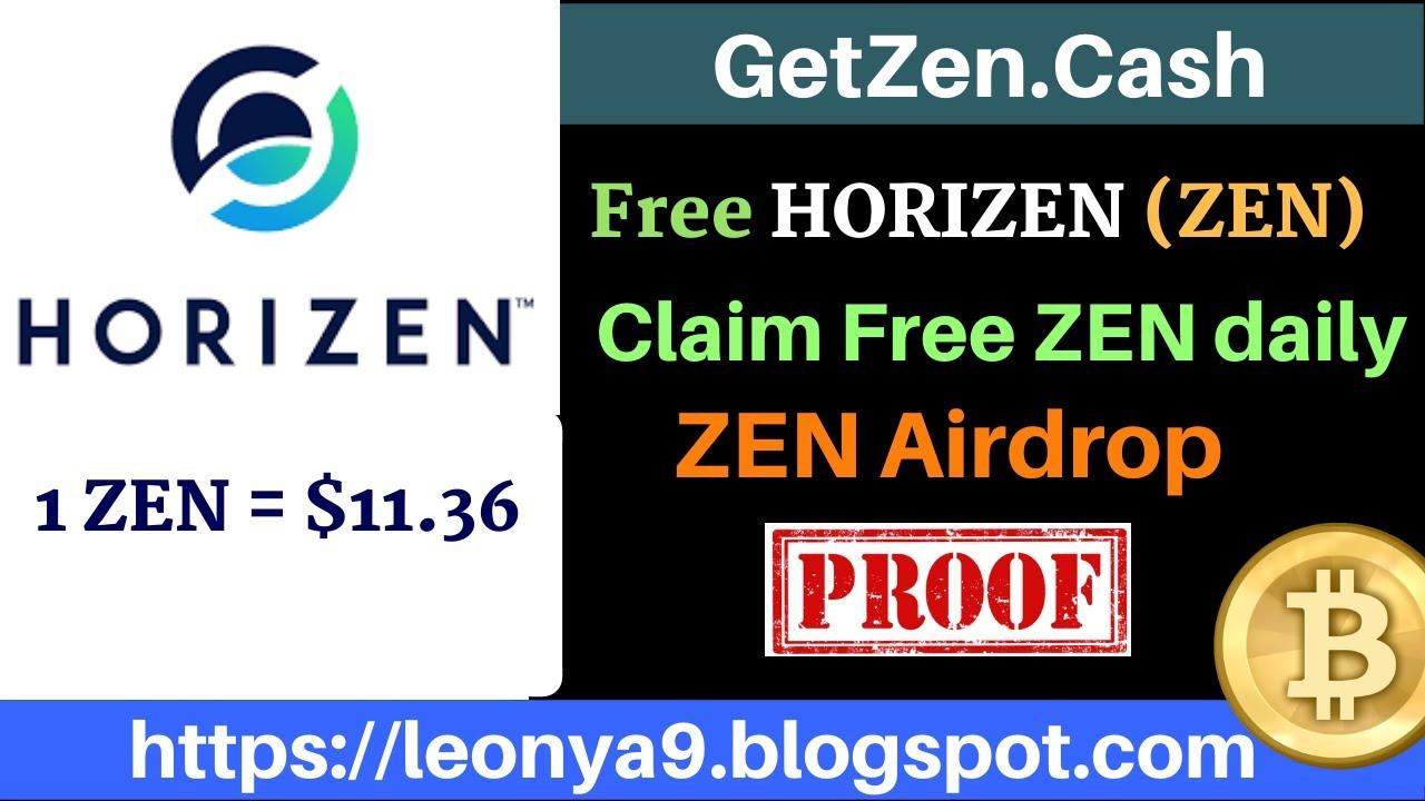 GetZen.Cash, Free Horizen (ZEN) Faucet + Airdrop