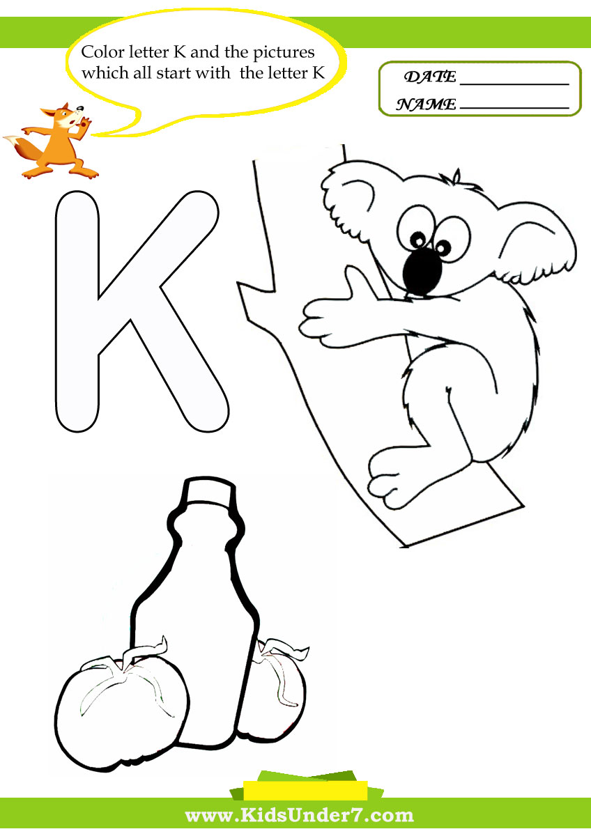5 letter words starting with sta free that start with k coloring pages 26066 | Letter K 7
