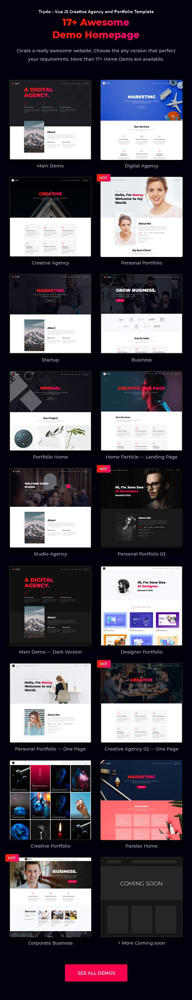 Creative Agency and Portfolio Website Template