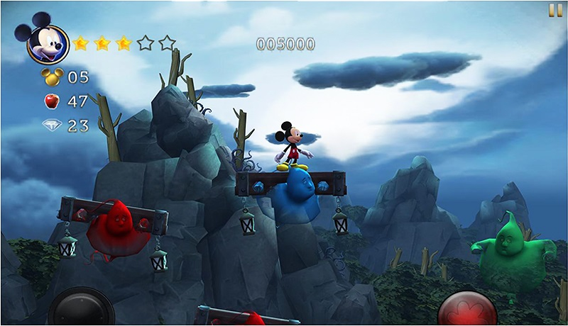 تحميل افضل لعبة مغامرات للاندرويد عالية جودة hd بدون نت| castle of illusion قلعة الاوهام