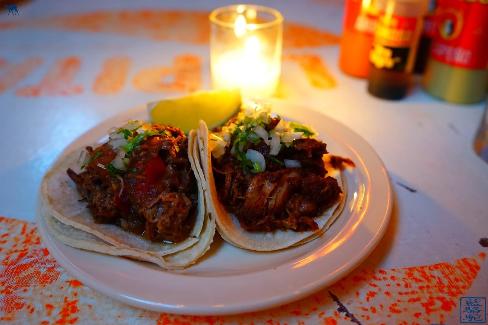 Le Chameau Bleu - Tacombi - Barbacoa Tacos New York USA