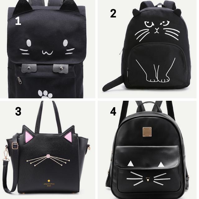 bolsas de gatinhos shein