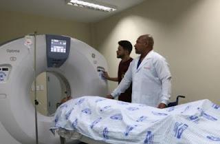 Com investimento do governo de AL,hospital de emergência do Agreste realiza mais de 21 mil enxames por  imagem.