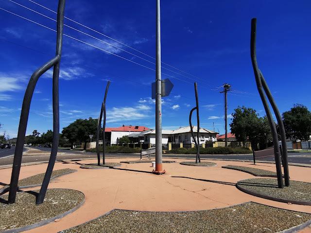 Public Art in Wagga Wagga by John Wood