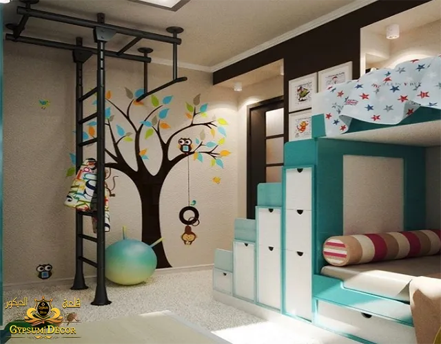 صور دهانات غرف اطفال بنات