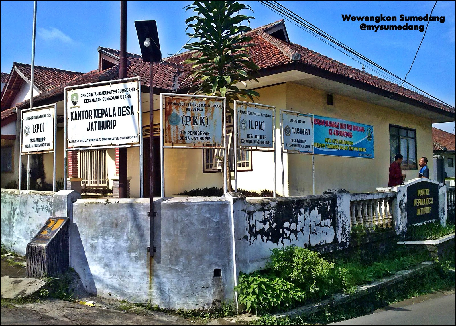 Asal Mula Nama Desa Jatihurip, Sumedang Utara