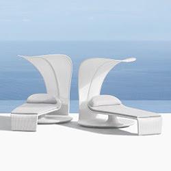 alu sonnenliege mit dach. Black Bedroom Furniture Sets. Home Design Ideas