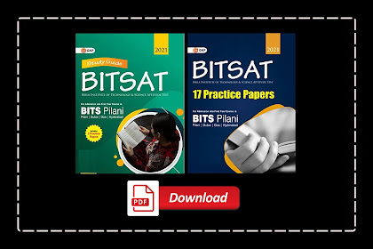 [PDF] GKP BITSAT 2021 - Guide with 17 Practice Papers | Download