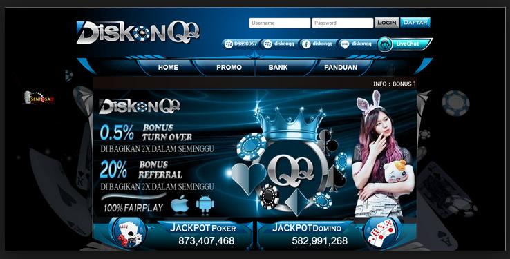Agen DominoQQ Online Terpercaya