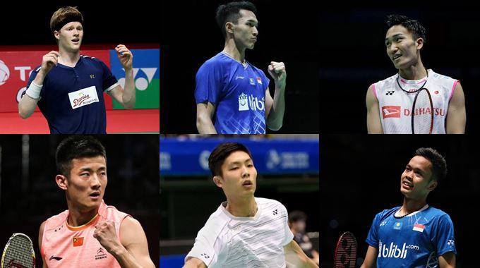 Jadwal BWF World Tour Finals 2019 Tunggal Putra