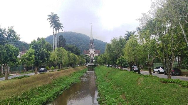 Catedral de São Pedro de Alcântara, em Petrópolis, região serrana do Rio de Janeiro