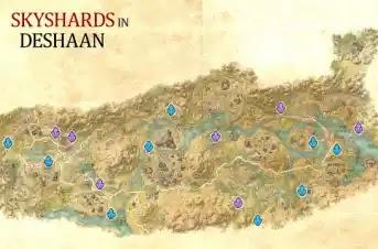 Deshaan Skyshards, Elder Scrolls Online,Ebonheart Pact,