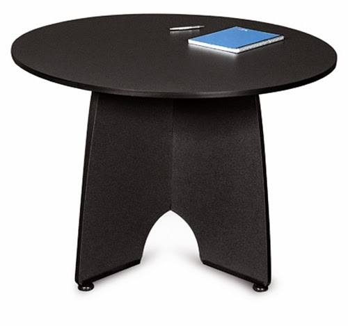 Modern Graphite Finished Meeting Table