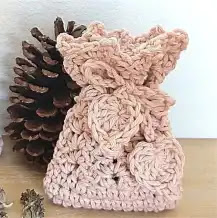 Bolsa para Perfumero a Crochet