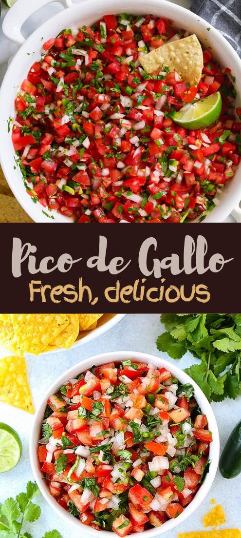 Pico de Gallo #food #lunchrecipe #vegan #vegetarianrecipe #easyrecipe