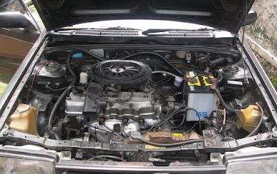 Foto Mesin Mazda 323 Elite