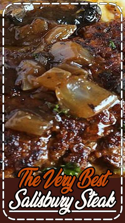 Comfort classic, the BEST Salisbury steak recipe made with ground beef in a rich, meaty mushroom gravy. Better than mom used to make!