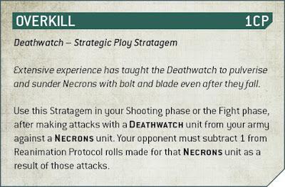 estratagemas Códex: Deathwatch