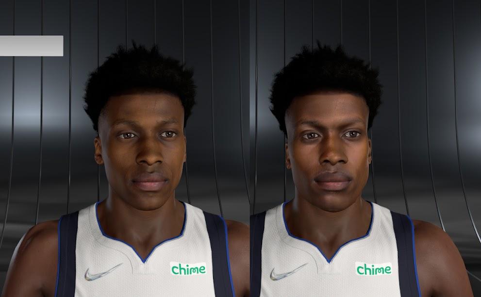 NBA 2K22 Frank Ntilikina Cyberface and Body Model by 2kspecialist