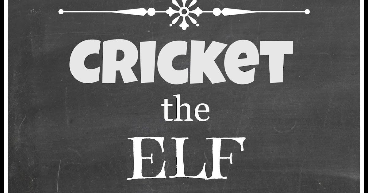 Queen B - Creative Me Cricket the Elf Arrives - and Brings Breakfast!!