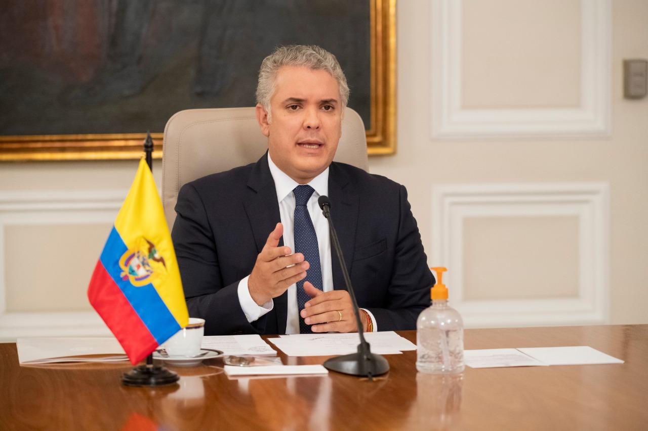 Duque confirma compra de 40 millones de vacunas contra Covid-19 para Colombia